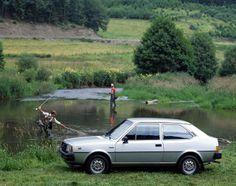 1985 VOLVO 343 GL - Reg No:? Colour: Graphite.   Jill Evans personal car 1991