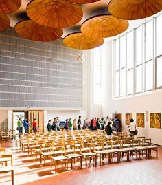 Religious Architecture, Church Architecture, Sustainable Architecture, Interior Architecture, Landscape Architecture, Architecture Classique, Classic Architecture, Architecture Organique, Alvar Aalto