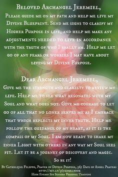 Archangel Jeremiel: Prayer of Divine Purpose
