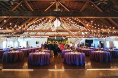purple barn wedding oregon www.greenvilla.us