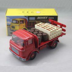 1/43 Dinky Toy Atlas Plateau Brasseur Berliet Camion Kronenbourg Rouge Ref 588 F