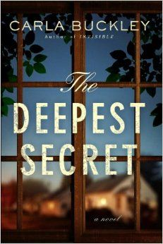 Another one to pre-order. I'm very excited about this upcoming book by Carla Buckley, who wrote THE THINGS THAT KEEP US HERE and INVISIBLE.  THE DEEPEST SECRET will be released February 4th and jump straight to the top of my TBR pile.