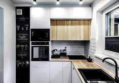 Jasne mieszkanie w stylu skandynawskim z industrialnymi elementami