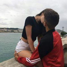 couple, love, and kiss image Cute Couples Photos, Cute Couple Pictures, Cute Couples Goals, Romantic Couples, Couple Photos, Couple Goals Relationships, Relationship Goals Pictures, Couple Relationship, Couple Tumblr