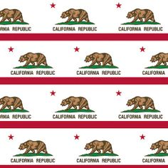 Smartphone Case - State Flag of California  - Patchwork