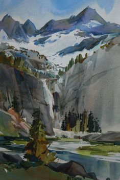 dale latinen - Yahoo Search Results Yahoo Image Search Results Learn Watercolor Painting, Watercolor Painting Techniques, Watercolor Artists, Watercolor Landscape, Landscape Art, Painting & Drawing, Landscape Paintings, Colorful Paintings, Beautiful Paintings