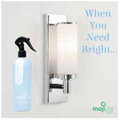 MojiLife MojiClean Glass & Surface Cleaner, When you need Bright!