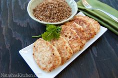 Chicken Kotleti- ukraine chicken patties made these for my family so delicious! must try