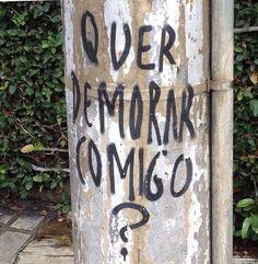 Quer demorar comigo? São Paulo Brasil