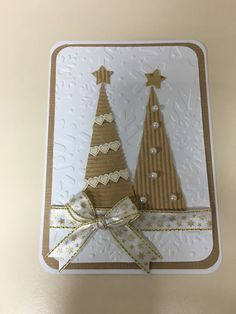 Go to the webpage to learn more about Christmas Craft Ideas Christmas Card Crafts, Homemade Christmas Cards, Christmas Cards To Make, Homemade Cards, Handmade Christmas, Holiday Cards, Christmas Decorations, Christmas Projects, Christmas Family Feud