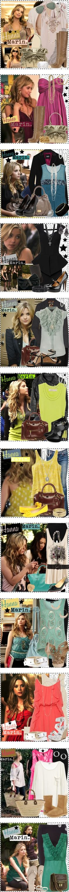 """Hanna Marin."" by silver-screen-style ❤ liked on Polyvore"
