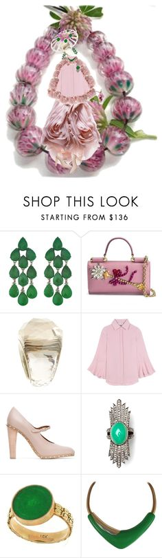 """Practice set Beads MOMimicry"" by diannecollier ❤ liked on Polyvore featuring Siman Tu, Dolce&Gabbana, Swarovski, Valentino, Juliette Botterill Millinery, Nush, Monet, O. Yang, beads and practice"