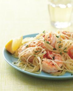 Lemony Shrimp Scampi Recipe