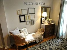Rachel's Nest: Staging our home - part 2 Sell Your House Fast, Selling Your House, Home Renovation, Home Remodeling, Dusty House, Home Repair Services, Diy Home Cleaning, Home Staging Tips, Home Hacks
