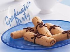 Enjoy these drop cookies made using Gold Medal� all-purpose flour. Perfect for a graduation day dessert.