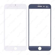 Replacement for iPhone 6 Plus Front Glass Lens - White Specifications: Color: White Screen Size: inches Material: Shatter proof glass, oleophobic coating Compatibility: Apple iPhone 6 Plus F. Iphone 7 Plus Features, Screen Size, Apple Iphone 6, Lens, Color, Colour, Colors