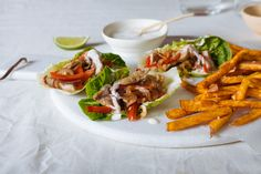 All our our recipes are gluten-free - check out these Spicy pork and red pepper fajitas served in baby gem lettuce wraps, a refreshing alternative to tortillas, served alongside sweet potato fries and drizzled with coconut sauce. A delicious mid-week dinner the whole family will enjoy.