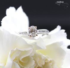 Breathtaking oval cut engagement ring featuring an ornate rose gold collet and diamond set band Fine Jewelry, Jewelry Making, Diamond Engagement Rings, Heart Ring, Wedding Rings, Rose Gold, Jewels, Band, Sash