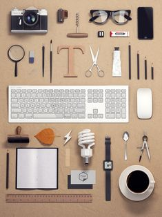 Knolling for Artists & Designers