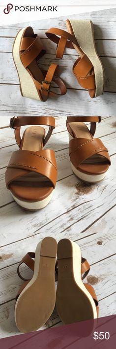 LOFT Brown Wedges NWOT LOFT Shoes Wedges