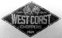 WCC Vintage Logo West Coast Choppers, Triangle, Logos, Vintage, Logo, Vintage Comics, Primitive