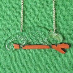 Chameleon Pendant...