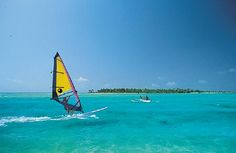 Windsurfing in the Tuamotu Atolls