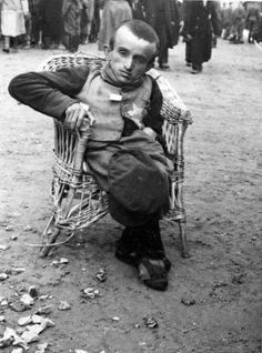 """""""Unfit for work,"""" Auschwitz, May 1944. via Photo Tractatus, KZ, NEVER FORGET, black and white, history, horrors"""