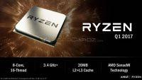 AMD представила микропроцессор Ryzen на архитектуре Zen    Уже сегодня состоится мероприятие New Horizon, на котором AMD собирается показать игровые способности готовящихся микропроцессоров на архитектуре Zen. Тем временем в Сети уже начинают появляться слайды с предстоящей презентации, из которых можно почерпнуть любопытные подробности, не дожидаясь официального мероприятия.    #wht_by #новости #новости_it #hardware #software    Читать на сайте https://www.wht.by/news/cpu/61330/