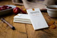 Hogarth Chocolate packaging by Sugarcube Studios » Retail Design Blog