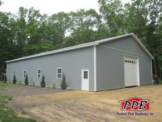 "Check out this Commercial Building! 50' W x 80' L x 14' 5"" H"
