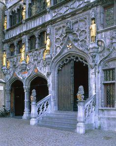 Belgium, Bruges, Basilique du Saint Sang (UNESCO), where sacred blood of Jesus is being kept.