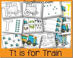 Tt is for Train–Zoomin Moving ABCs