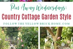 Welcoming Farmhouse Style Porches And Entryway Ideas - My Garden Decor List Country Cottage Garden, French Country Cottage, French Country Style, Cottage Style, Country Decor, Country Farmhouse, Vintage Kitchen Accessories, Farmhouse Style Kitchen, Farmhouse Ideas