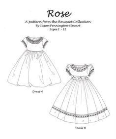 Susan Stewart Rose Pattern
