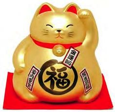 My mom better have got me one of these! Solar powered blessing cat thingy.