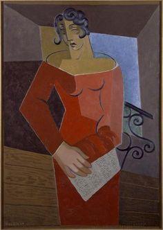 Juan Gris, The Singer, 1926 on ArtStack #juan-gris #art