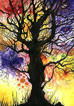 Tree of life series — Psst....Don't forget your FREE copy of my book 'Creative Expression' @ www.cherieroedirksen.com