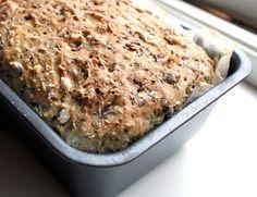 Veganmisjonen: Fem-frø-brød Cloud Bread, Vegan Baking, Banana Bread, Clean Eating, Food And Drink, Desserts, Food Ideas, Seeds, Norway