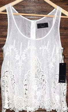 Embroidered Sheer...