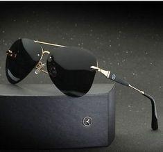 fc40796a0 a mercedes benz gafas para sol para hombres polarizadas uv400 totalmente  nuevo diseno de moda de