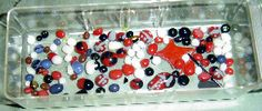 How to make fused glass dots and globs in the kiln.  This is a great way to use up your scrap glass.
