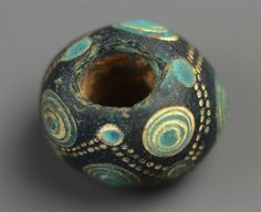 Warring States Glass Bead from Early China