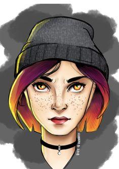 I coloured it in.... Drawn by Hannah Balderstone, using Sketchbook Autodesk #art #drawing #digital #girl #digitaldrawing #tutorial #colour #sketch #face #facedrawing #simple #ash #design #character #characterdesign #drawingart #drawingtutorial #girlboss #HannahBalderstone