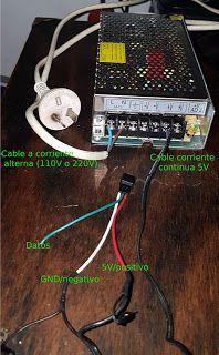 Proyectos Arduino: Panel LED Arduino, Panel Led, Power Strip, Blue Prints