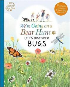 We're Going on a Bear hunt Let's discover Bugs book cover