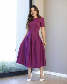 Id shorten this to below my knee but absolutely Love it! Girls Frock Design, Long Dress Design, Stylish Dress Designs, Stylish Dresses For Girls, Modest Dresses, Elegant Dresses, Funky Dresses, Frock Fashion, Indian Fashion Dresses