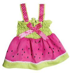 Juicy Watermelon Sundress - Apparel - Dresses Posh Puppy Boutique