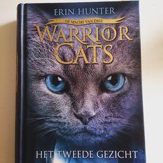 #boekperweek 48/53. Het tweede gezicht van Erin Hunter. Nieuwe serie Warrior cats.
