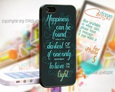Quotes From Harry Potter - Print On Hard Case iPhone 5 Case